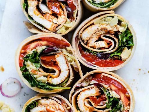 Italian Chicken Wrap