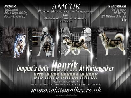 AMCUK WMOYA & MOYA results for Whitewalker