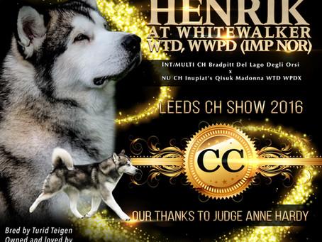 Henrik's 1st CC!!!!