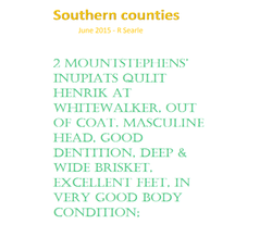 southern cunties 2015