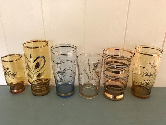 Vintage Tumbler Glasses