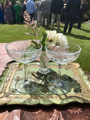 Large Cocktail or Champagne Coupe