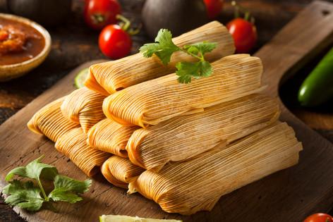 Tamales de Puerco