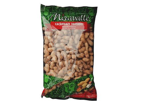 Cacahuate Tostado 2 paq 16 oz