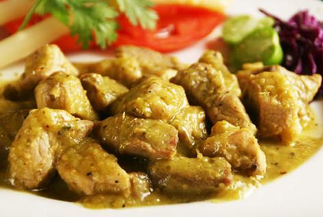 Martes de Recetas: Carne de puerco en salsa verde