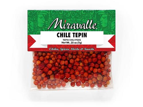 Chile Tepin 3paq 0.25oz