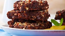 Brownies de ciruela pasa y cocoa
