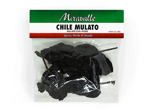 Chile Mulato 3paq 2oz