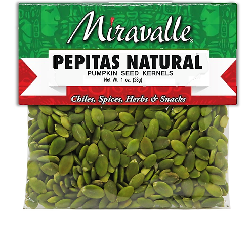 Pepitas Natural 3paq 2oz