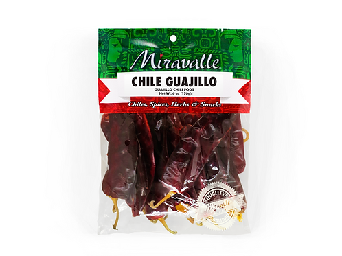 Chile Guajillo 2paq 6oz