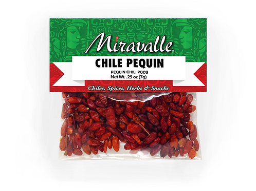 Chile Pequin 3paq 0.25oz