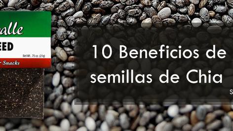 Los 10 sorprendentes beneficios de las semillas de chía