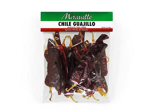 Chile Guajillo 3 paq 3oz