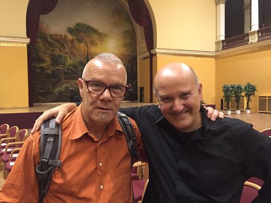 with Tibor Szemzo