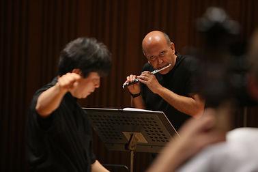 with Toshio Hosokawa