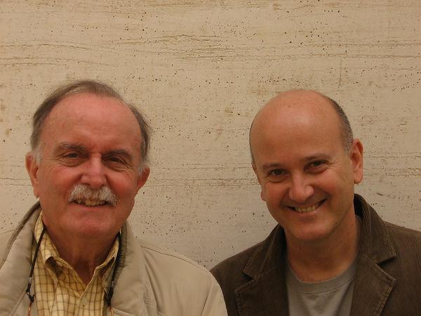 with Alvin Lucier