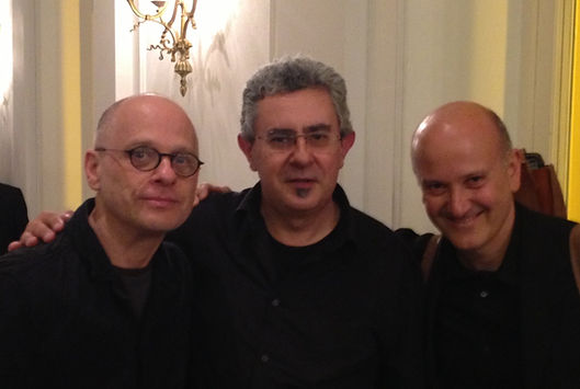 with David Lang and Paolo Ravaglia