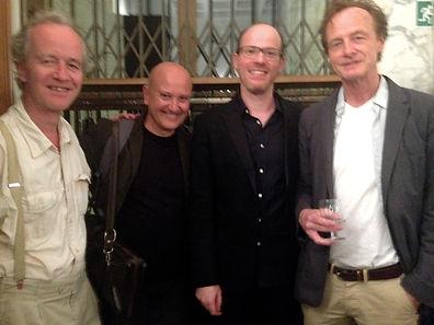 with Peter Ablinger, Emanuele Torquati and Beat Furrer