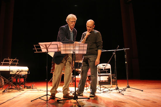 with Jonathan Harvey