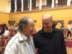 with Laszlo Sary