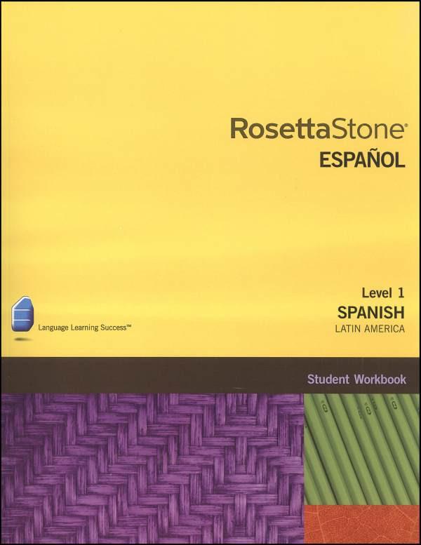 Rosetta Stone Spanish 1