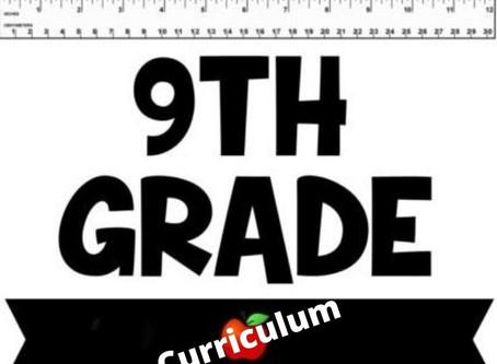 Our 9th Grade Secular Homeschool Curriculum