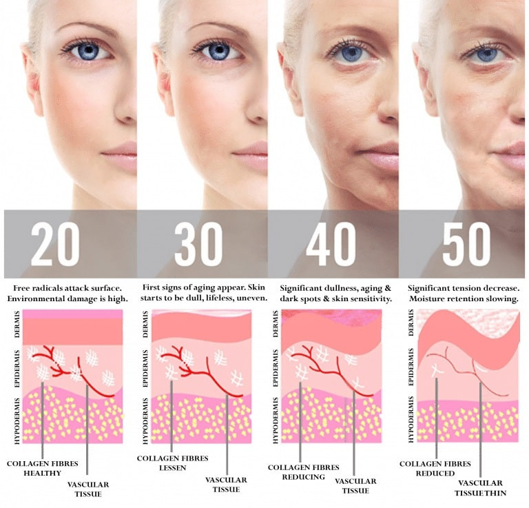 Your Skin Through The Ages