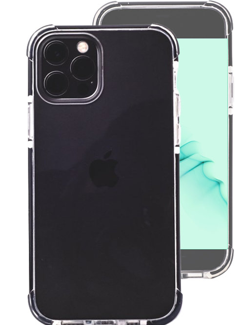 Iphone12/pro clear shockproof case