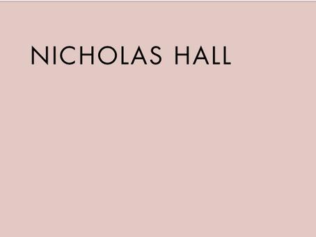 Tova's Interview on Nicholas Hall's New Website