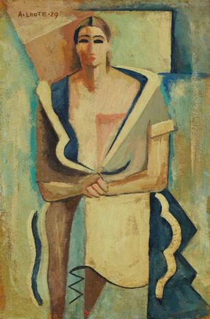 André Lhote, Portrait de femme assise