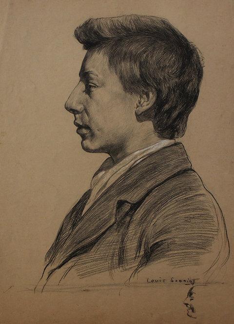 Zelfportret Louis Soonius