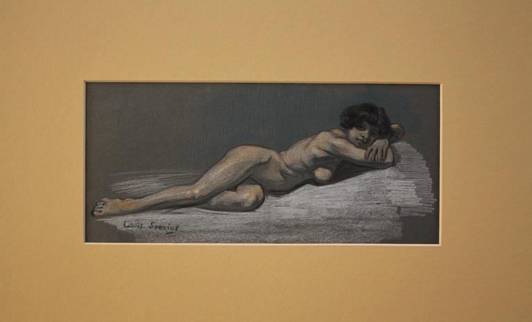 Louis Soonius, female nude