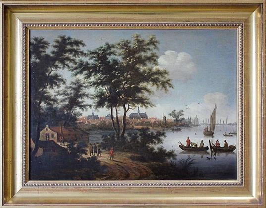 Willem Dalens stadsgezicht Haarlem