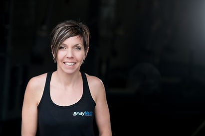 Co-owner and personal trainer, Megan Penney.