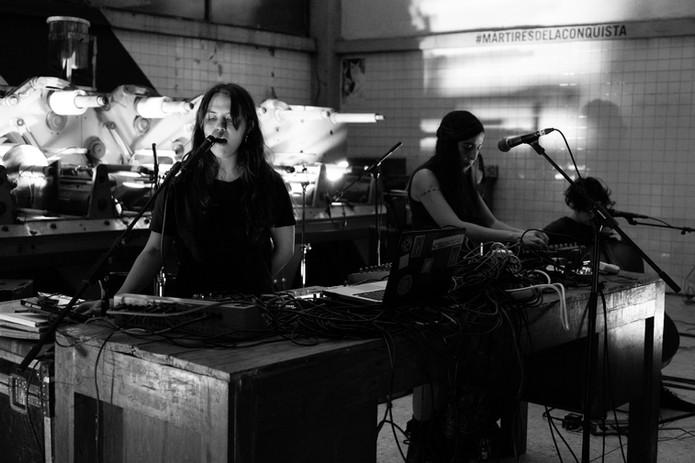 Camille Mandoki / Concepción Huerta / Mabe Fratti