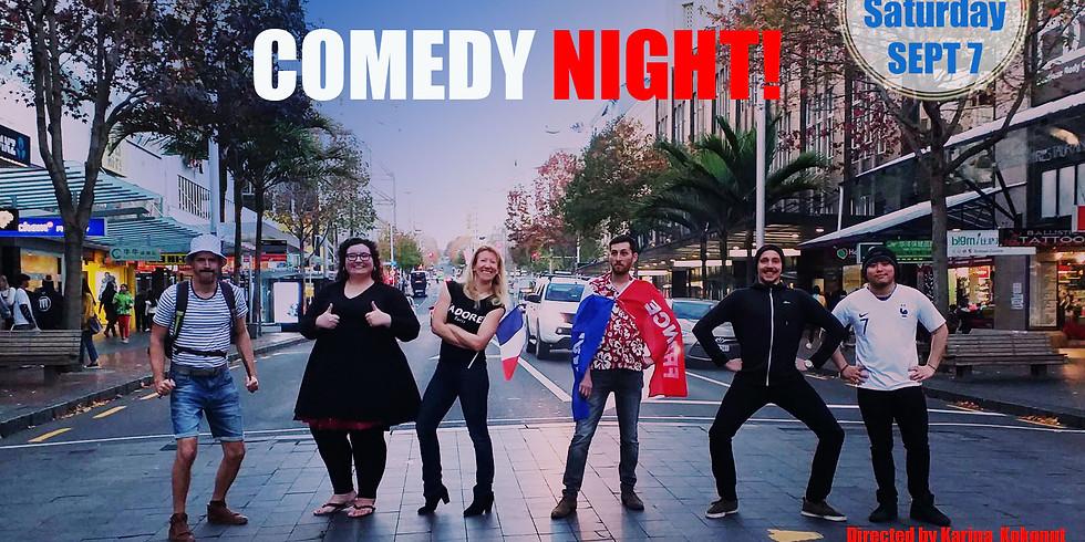 My French Comedy Night!