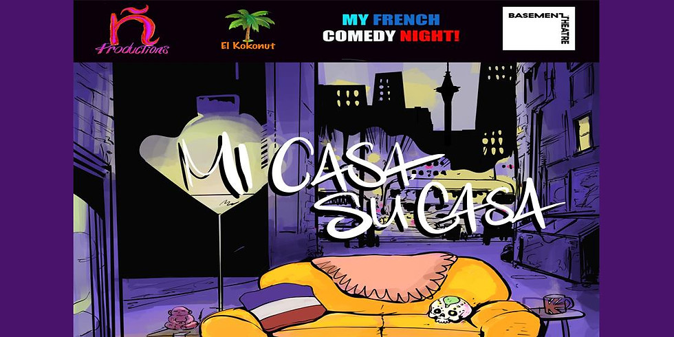MY FRENCH COMEDY NIGHT AT THE BASEMENT!