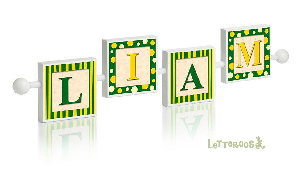 Green & Yellow Razzle Dazzle
