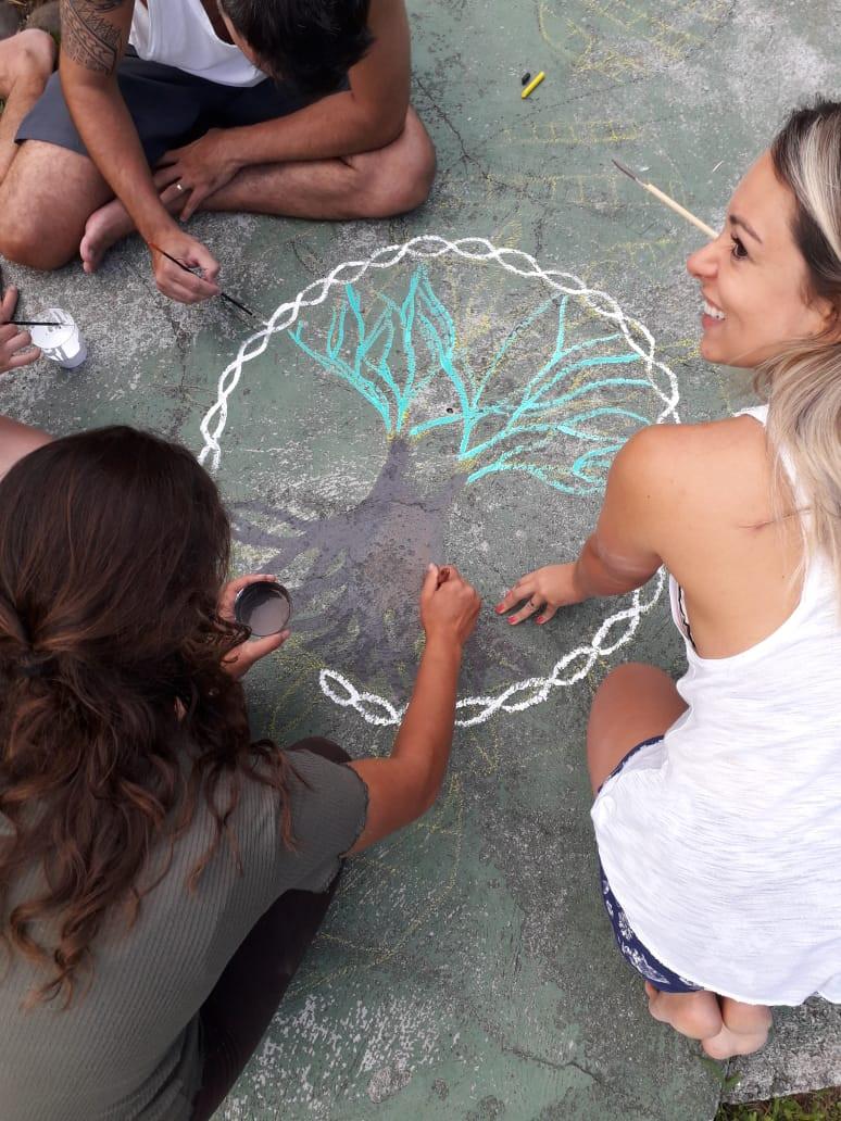 arvore da vida Florescer Centro de Vivencias