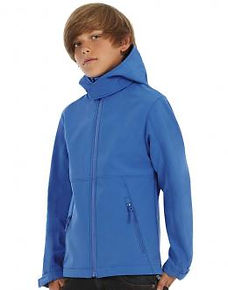 bestickte Softshell-Jacken für Kinder