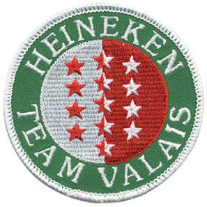 gesticktes Abzeichengesticktes Abzeichen, Heineken Team Valais
