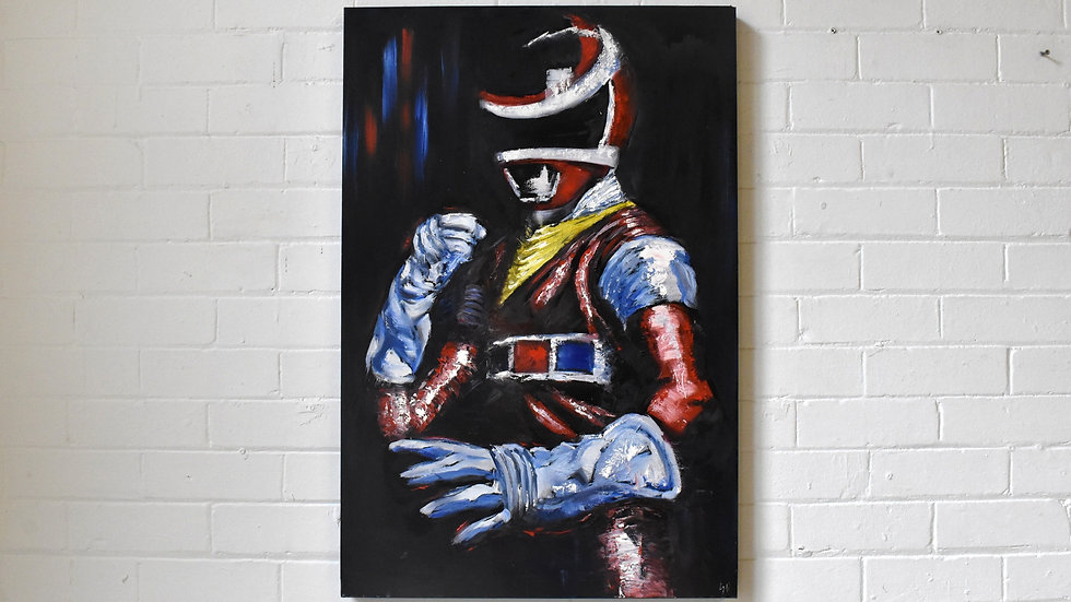 Red In Space Power Ranger