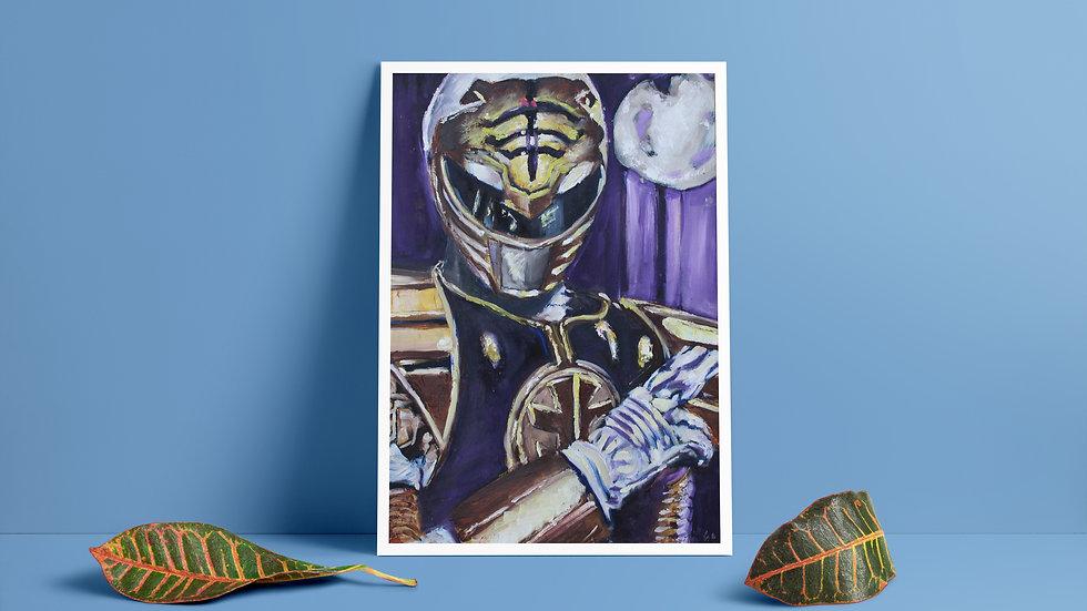Gold Ranger Art Print