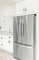 kitchen sanitized by UV lite and steam