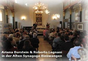 Ariana Burstein & Roberto Legnani, Binswangen
