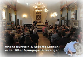 Duo Ariana Burstein & Roberto Legnani, Binswangen