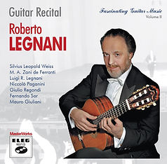 ELEG 9027 CD, Guitar Recital, Roberto Legnani