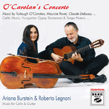 ELEG 9024 CD, O'Carolan's Concerto, Music for Cello & Guitar