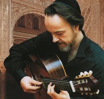 Roberto Legnani in der Alhambra, 1993.jp