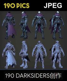 Darksiders III Game Concepts